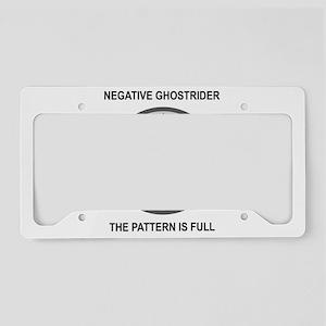 ghost3 License Plate Holder