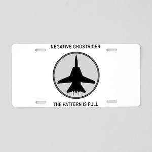 ghost3 Aluminum License Plate