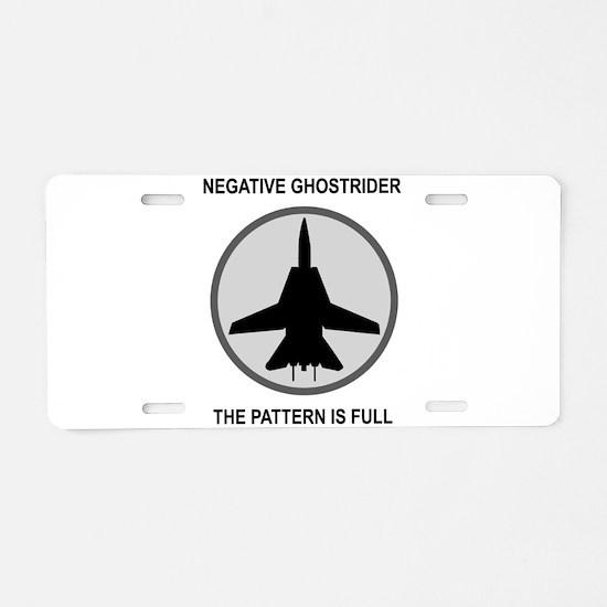 ghost3.jpg Aluminum License Plate