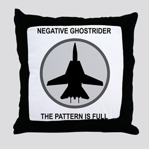 ghost3 Throw Pillow