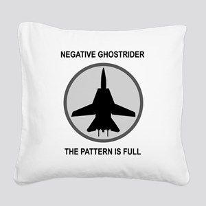 ghost3 Square Canvas Pillow