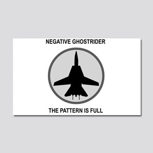 ghost3 Car Magnet 20 x 12