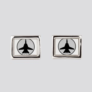 ghost3 Rectangular Cufflinks