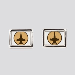 ghost5 Rectangular Cufflinks