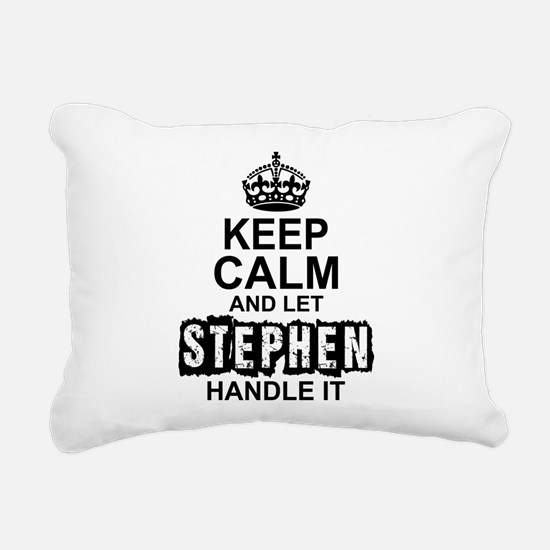 Keep Calm and Let Stephen Handle It Rectangular Ca