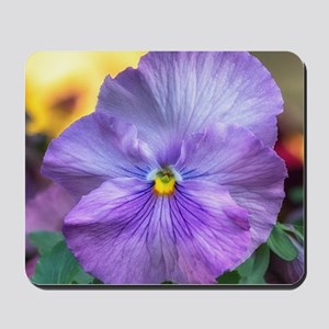 Lavender Pansy Mousepad