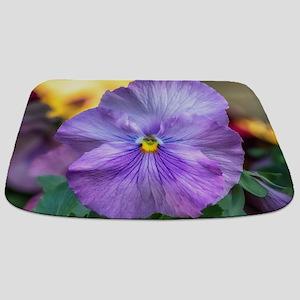 Lavender Pansy Bathmat