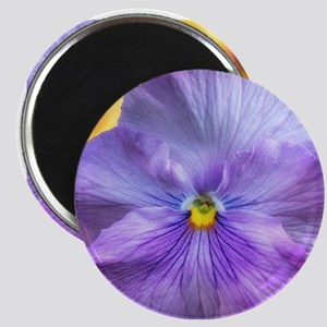 Lavender Pansy Magnet