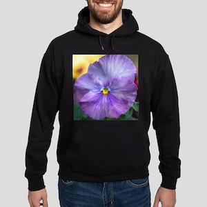 Lavender Pansy Hoodie (dark)