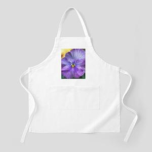 Lavender Pansy Apron
