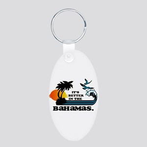 Its Better In The Bahamas Keychains