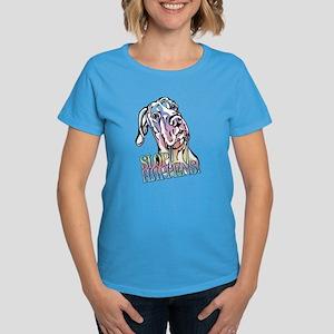 Slop Happens UC Pastel Women's Dark T-Shirt