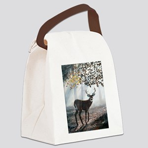 Misty Morning Canvas Lunch Bag