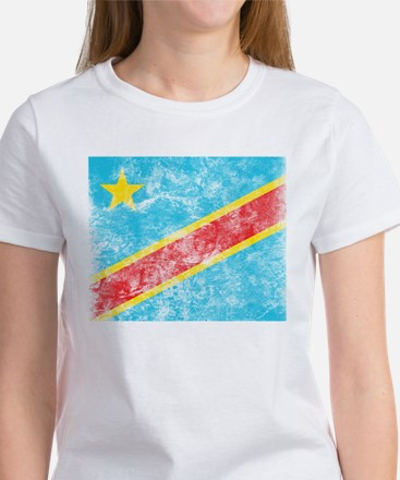 Vintage Congo Flag Women's T-Shirt