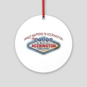 Accrington Happens Ornament (round)