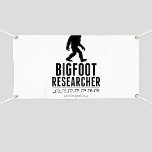 Bigfoot Researcher Banner