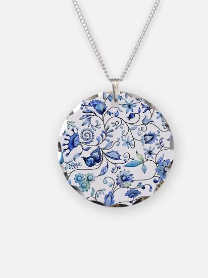 Blue Onion Necklace
