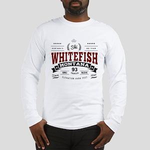 Whitefish Vintage Long Sleeve T-Shirt