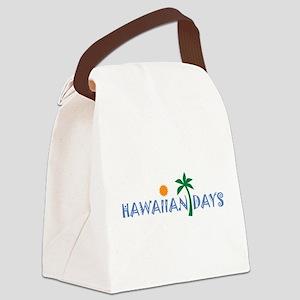LogoFace HD Canvas Lunch Bag