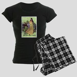 022A© Women's Dark Pajamas