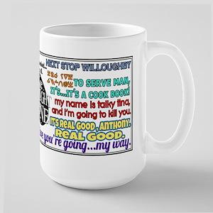 Twilight Zone Quotes Large Mug
