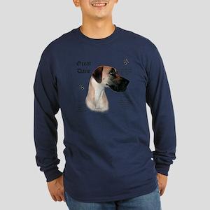 Fawn(n) History Long Sleeve Dark T-Shirt