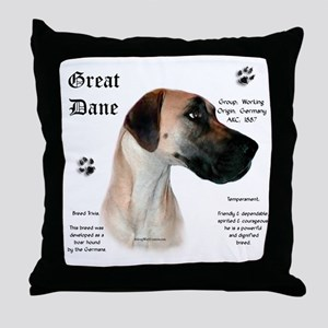 Fawn(n) History Throw Pillow