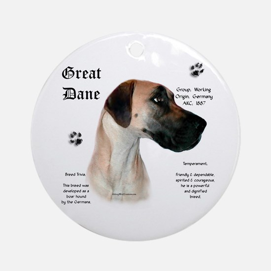 Fawn(n) History Ornament (Round)