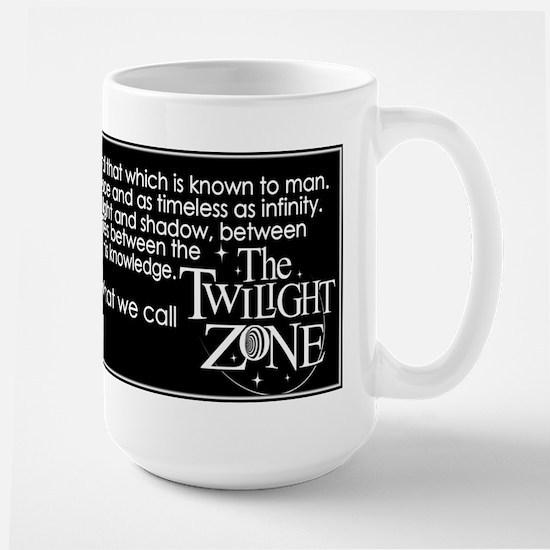 Twilight Zone Large Mug