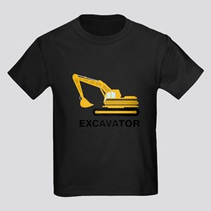 Excavator With An Attitude T-Shirt
