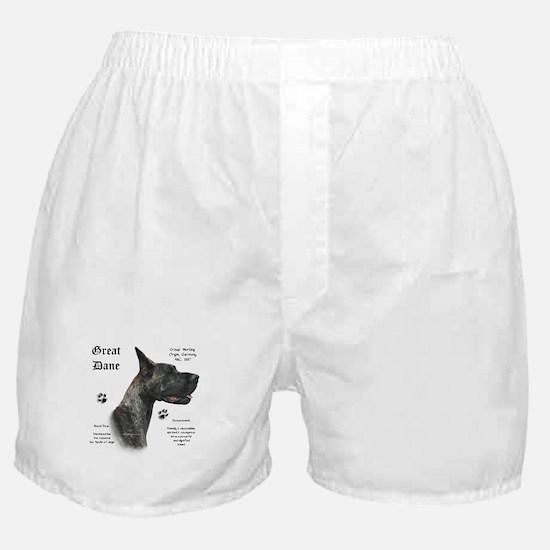 Brindle History Boxer Shorts