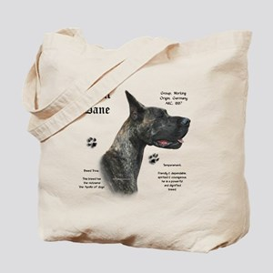 Brindle History Tote Bag