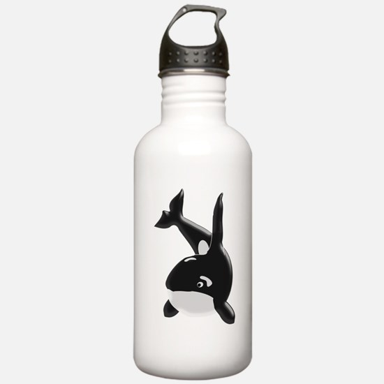 Killer Whale Sports Water Bottle