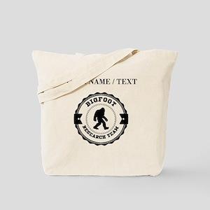 Custom Bigfoot Research Team Tote Bag