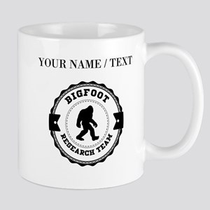 Custom Bigfoot Research Team Mugs