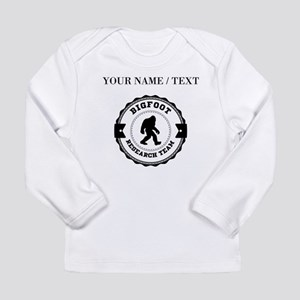 Custom Bigfoot Research Team Long Sleeve T-Shirt