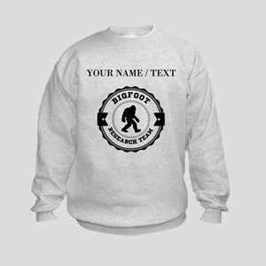 Custom Bigfoot Research Team Sweatshirt