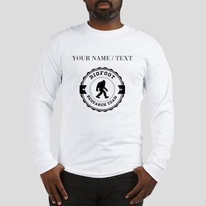 Custom Bigfoot Research Team Long Sleeve T-Shirt