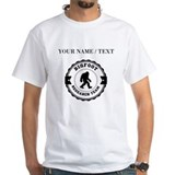 Bigfoot Mens Classic White T-Shirts