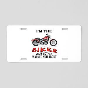 BIKER Aluminum License Plate