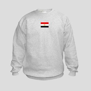 egypt flag Kids Sweatshirt