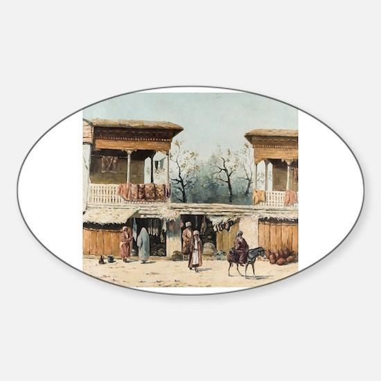 Cute Francesco Sticker (Oval)