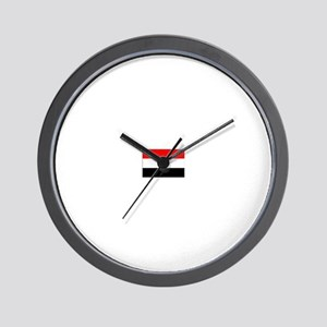 egypt flag Wall Clock
