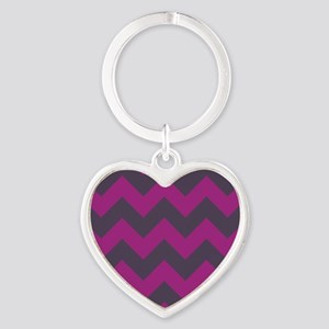 berry magenta orchid and gray lavender chevron pat