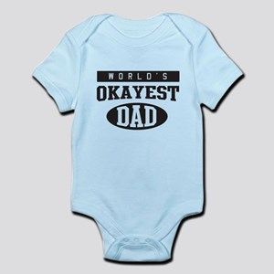 World's okayest dad Body Suit
