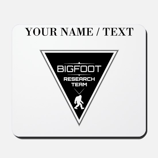 Custom Bigfoot Research Team Triangle Mousepad