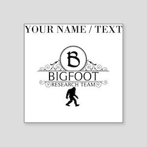Custom Bigfoot Research Team Sticker