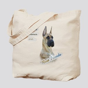 Brindle Best Friend Tote Bag