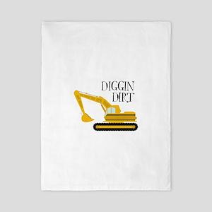 Diggin Dirt Twin Duvet