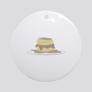 Biscuits and Gravy Ornament (Round)